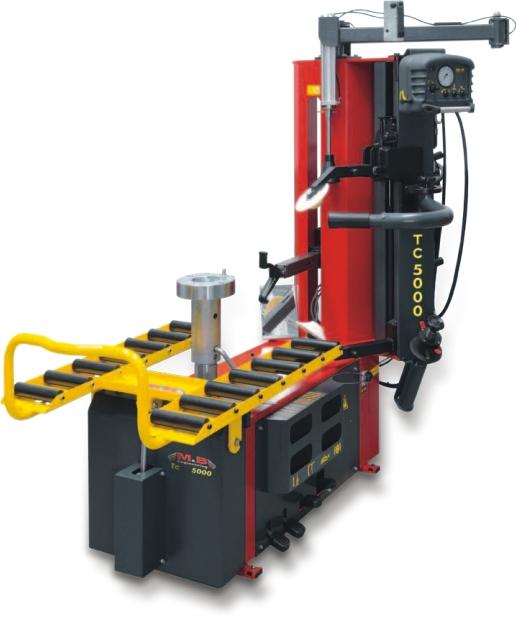Desmontadora de ruedas superautomática M&B TC5000