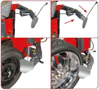 Despegador desmontadora de ruedas