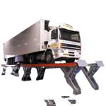 Elevadores de semitijera para vehículos industriales