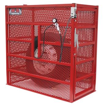 IC-BOX Jaula de inflado para ruedas de vehículos industriales