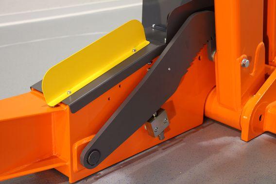 Seguridad mecánica en el elevador portatil FHB3000