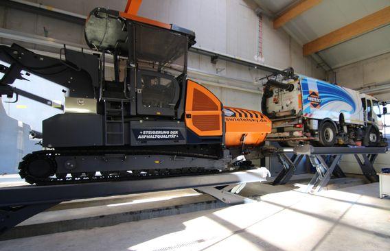 Elevador de semitijera Finkbeiner HDS50 16000