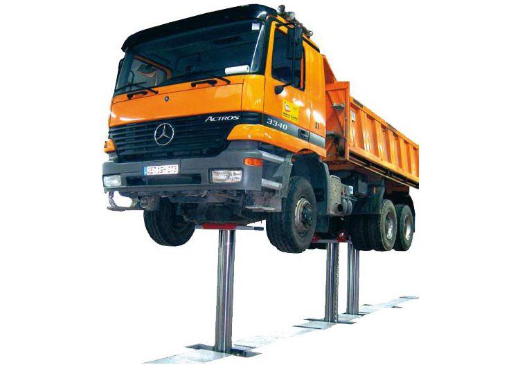 HVD elevador de 3 pistones para vehículos industriales