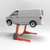 Elevador móvil para turismos y furgonetas