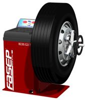 Equilibradora de ruedas de camión B230