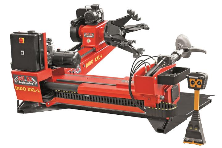 Desmontadora superautomatica de ruedas industriales M&B DIDO XXL