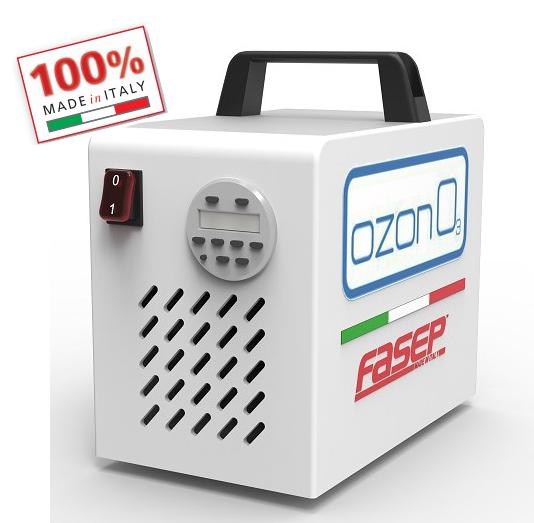 Generador de ozono para la desinfección de todo tipo de vehículos y espacios cerrados